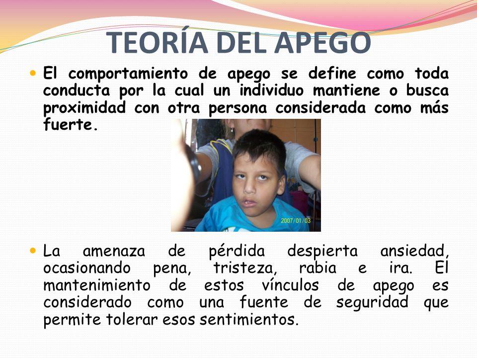 TEORÍA DEL APEGO