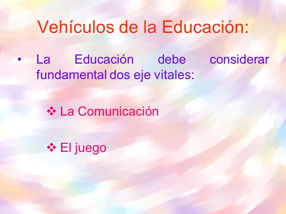 Vehículos de la Educación:
