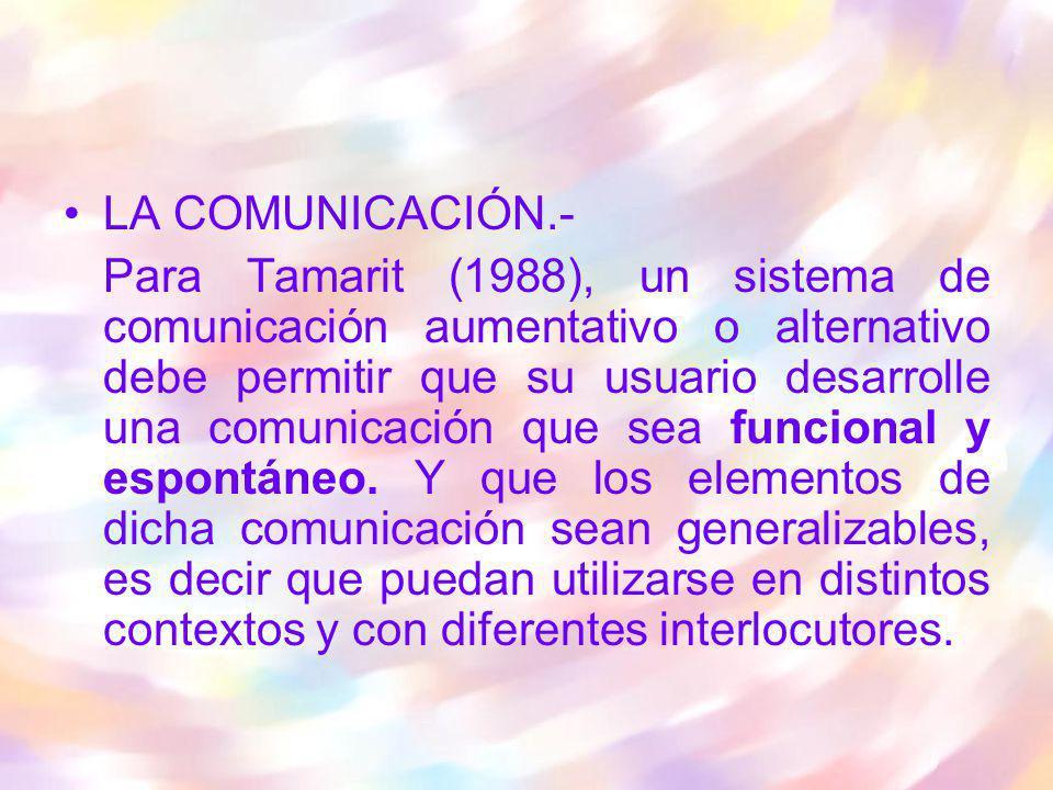 LA COMUNICACIÓN.-