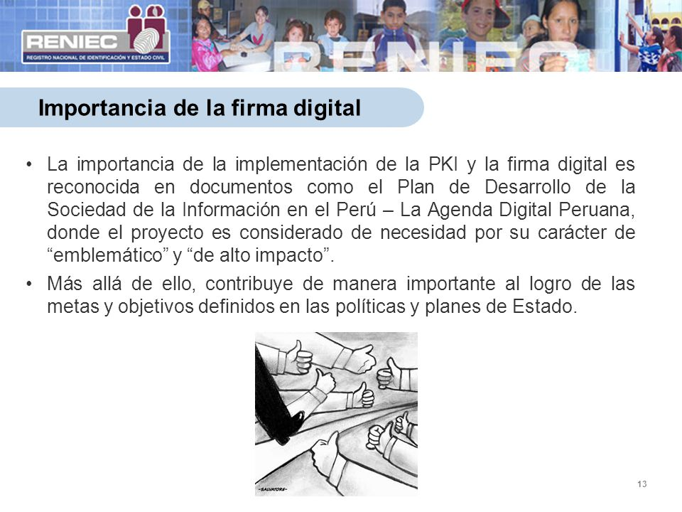Importancia de la firma digital