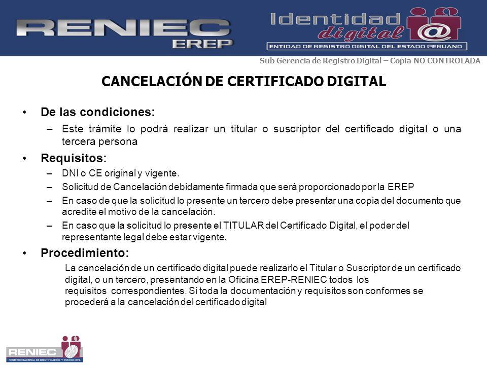 La firma digital en el per ppt descargar for Oficina certificado digital