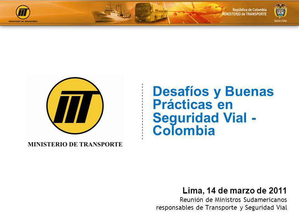 Desafíos y Buenas Prácticas en Seguridad Vial - Colombia
