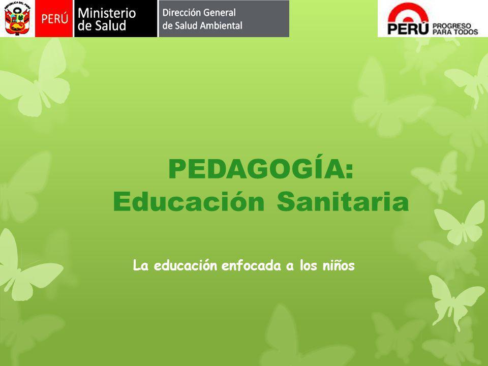 PEDAGOGÍA: Educación Sanitaria