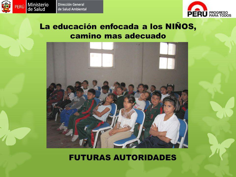 La educación enfocada a los NIÑOS, camino mas adecuado
