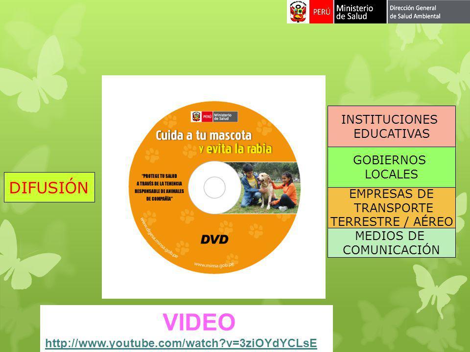 VIDEO DIFUSIÓN INSTITUCIONES EDUCATIVAS GOBIERNOS LOCALES EMPRESAS DE