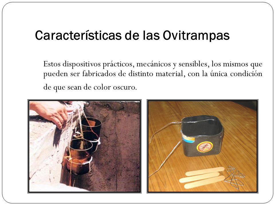 Características de las Ovitrampas
