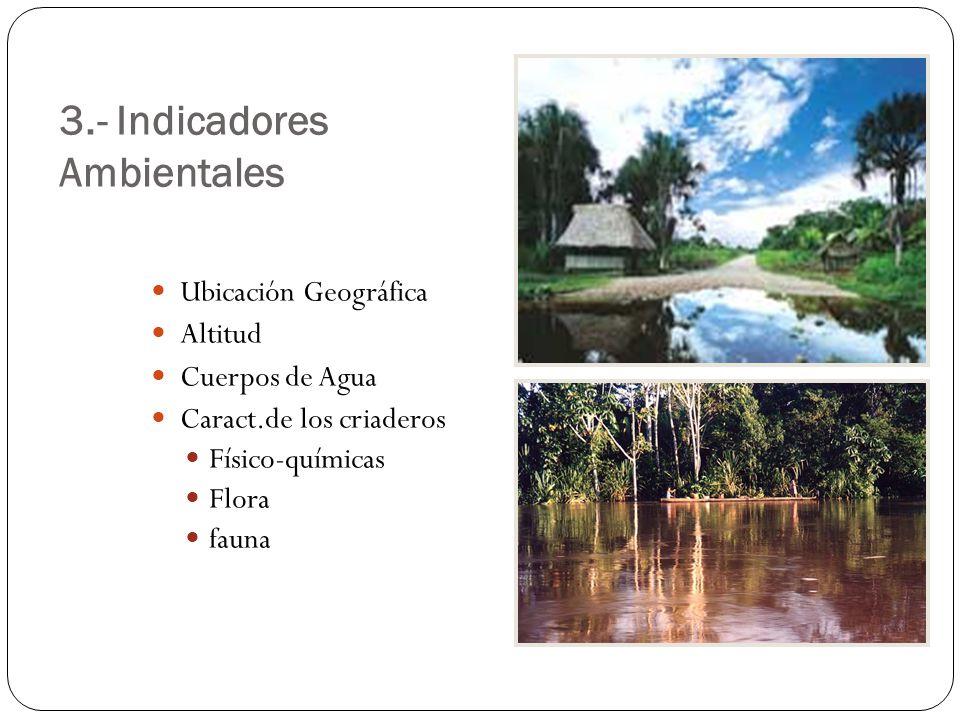 3.- Indicadores Ambientales