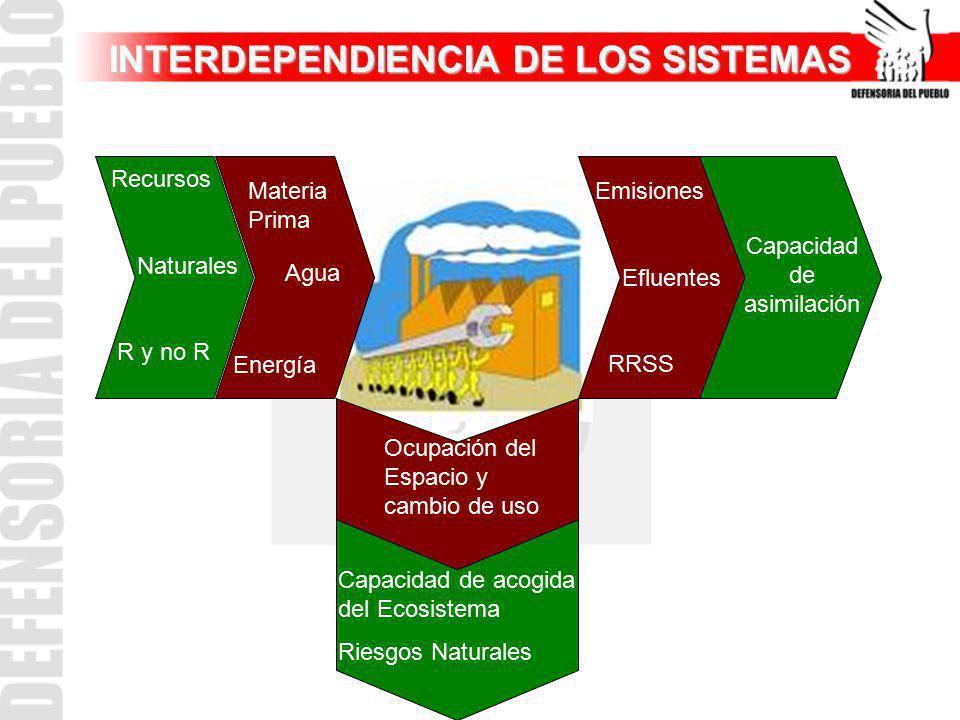 INTERDEPENDIENCIA DE LOS SISTEMAS