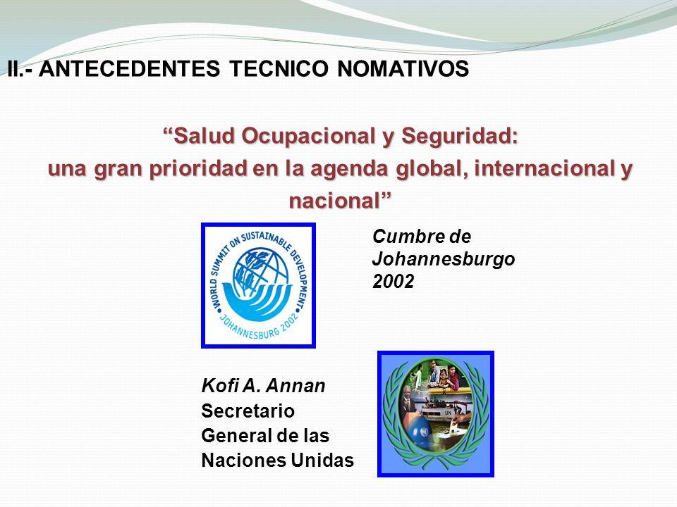 II.- ANTECEDENTES TECNICO NOMATIVOS