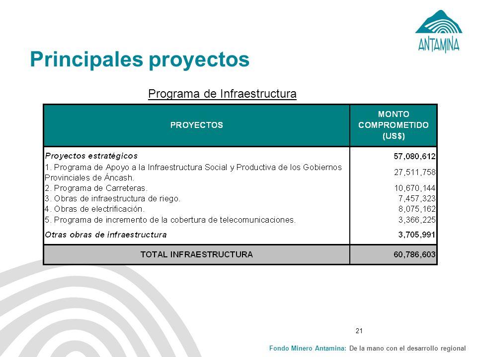 Principales proyectos
