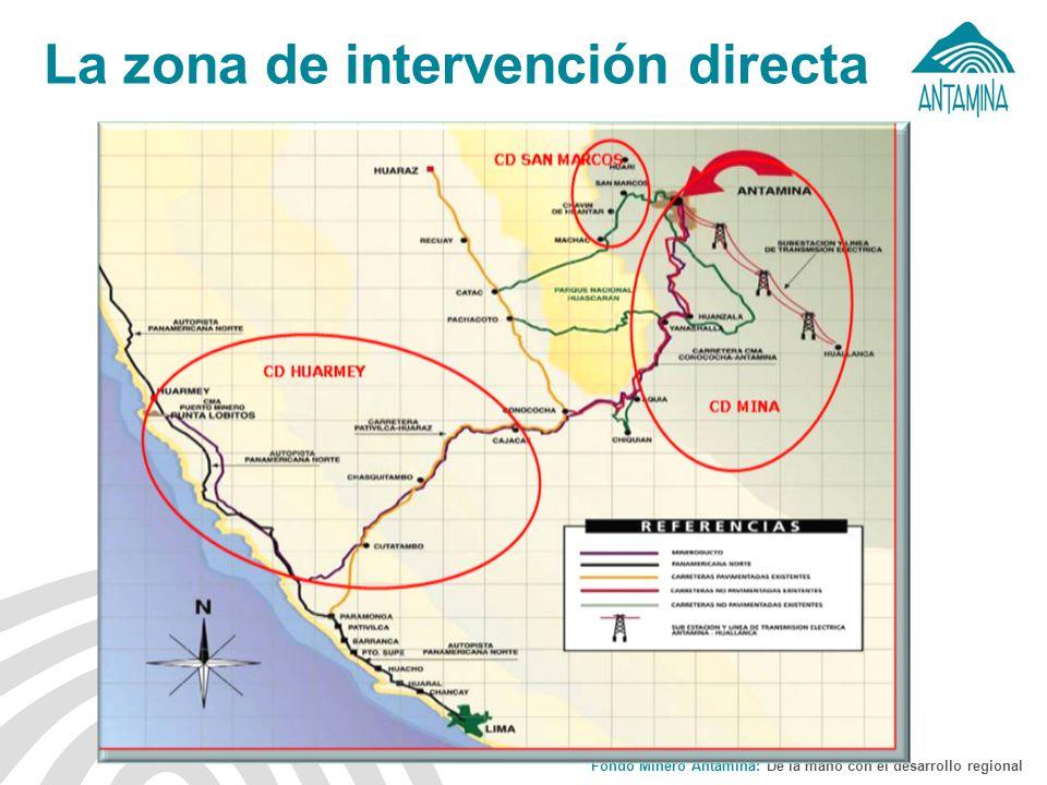 La zona de intervención directa
