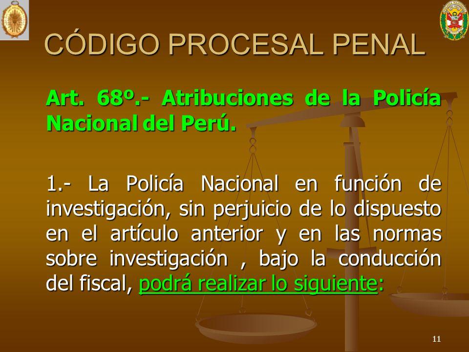 Funciones y atribuciones de la polic a nacional y el for Ministerio policia nacional