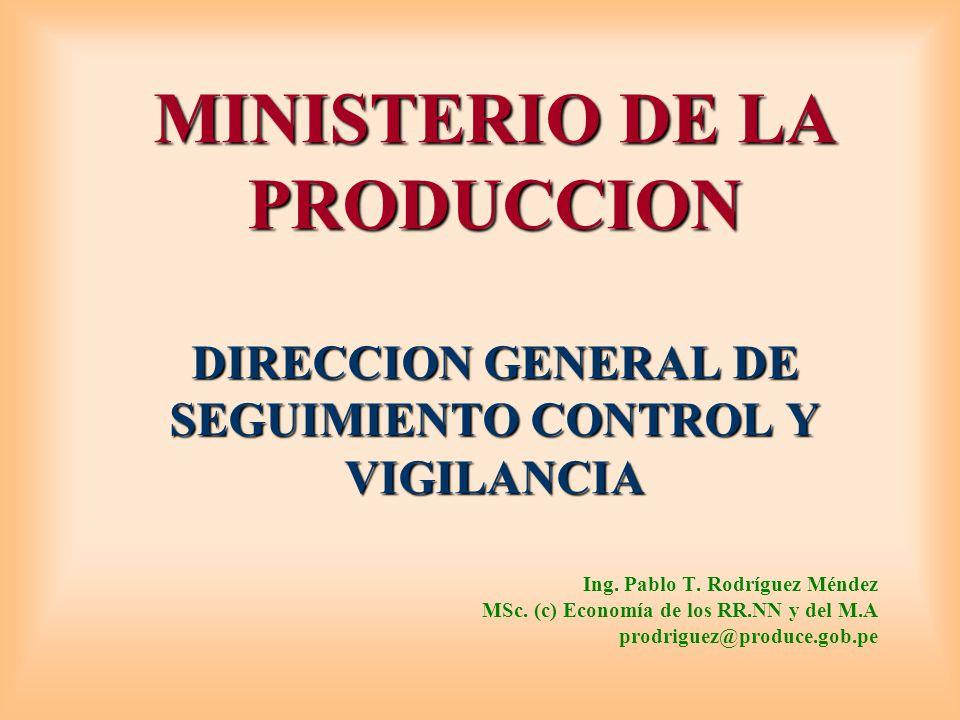 OE 1.1._DIGSECOVI MINISTERIO DE LA PRODUCCION DIRECCION GENERAL DE SEGUIMIENTO CONTROL Y VIGILANCIA.