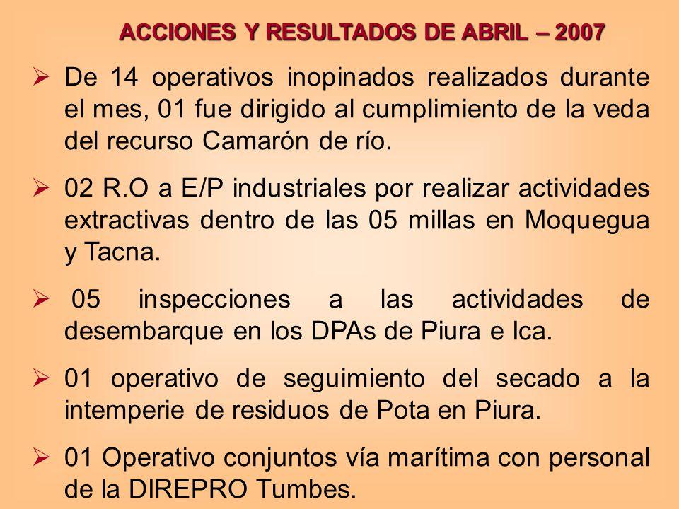 01 Operativo conjuntos vía marítima con personal de la DIREPRO Tumbes.