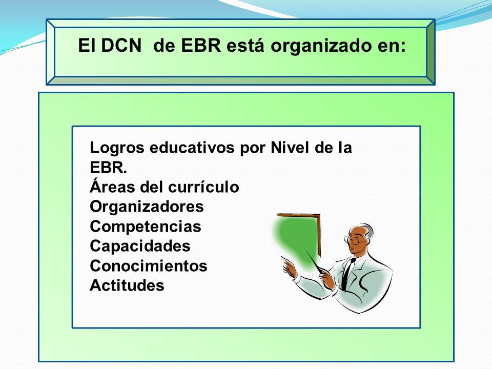 El DCN de EBR está organizado en: