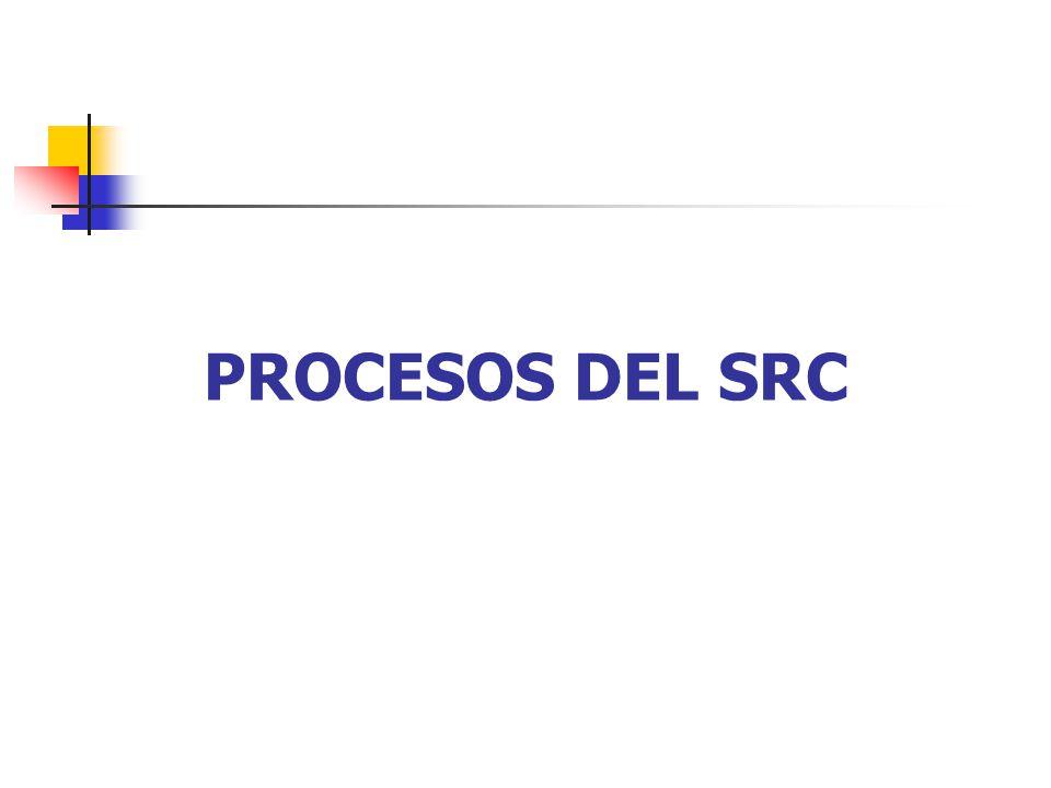 PROCESOS DEL SRC