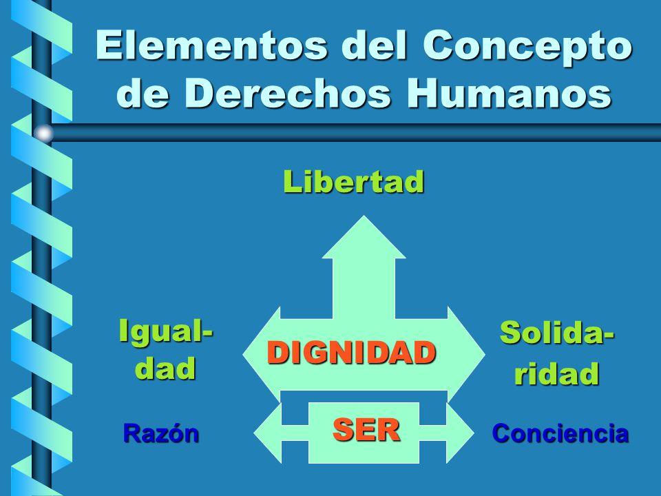 Elementos del Concepto de Derechos Humanos