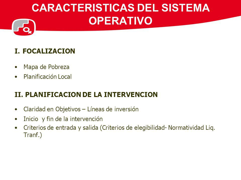CARACTERISTICAS DEL SISTEMA OPERATIVO