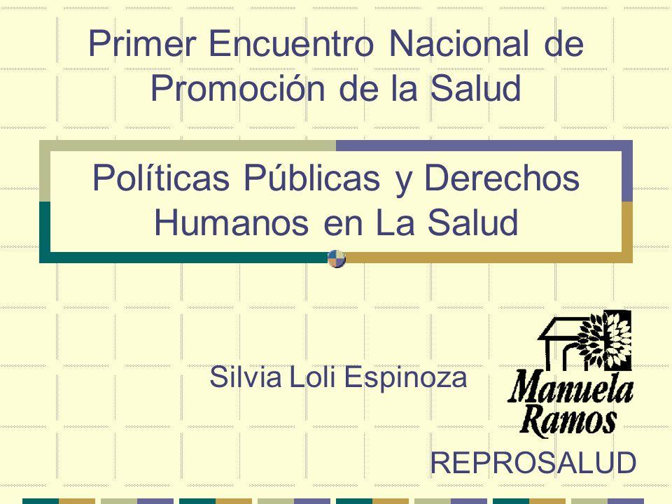 Silvia Loli Espinoza REPROSALUD