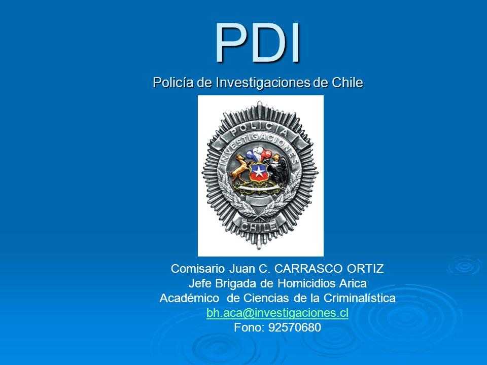 PDI Policía de Investigaciones de Chile