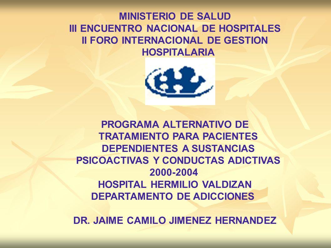 III ENCUENTRO NACIONAL DE HOSPITALES