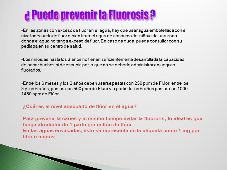 ¿ Puede prevenir la Fluorosis