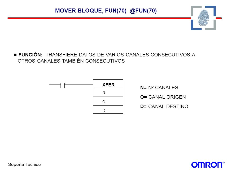 MOVER BLOQUE, FUN(70) @FUN(70)