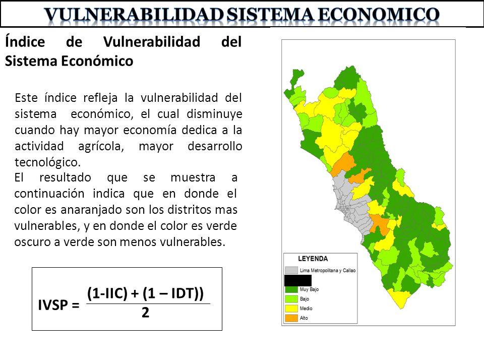VULNERABILIDAD SISTEMA ECONOMICO