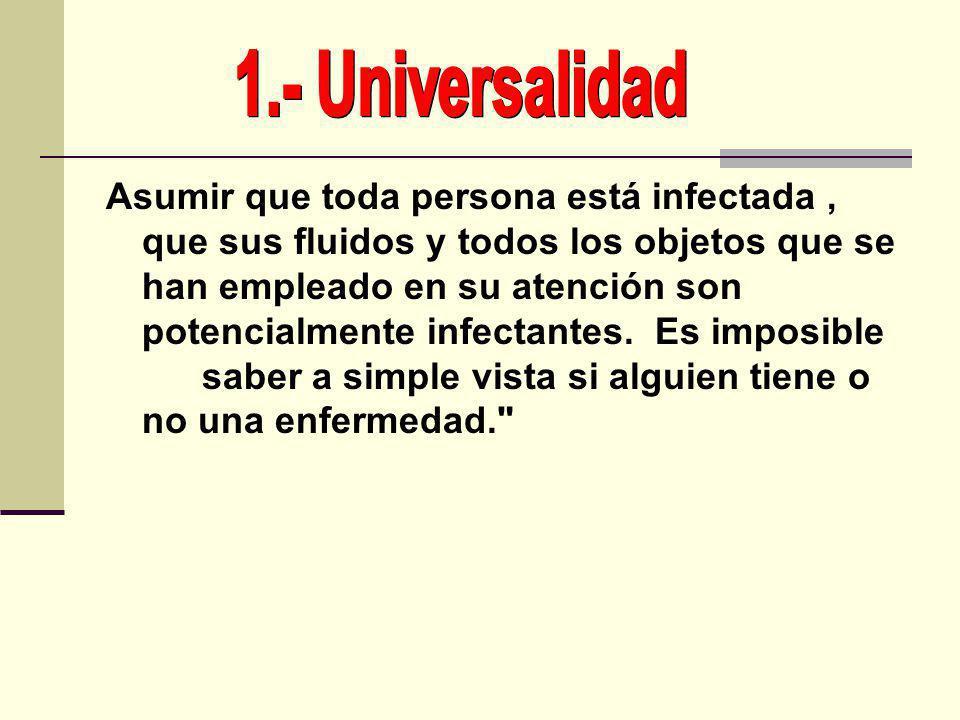 1.- Universalidad