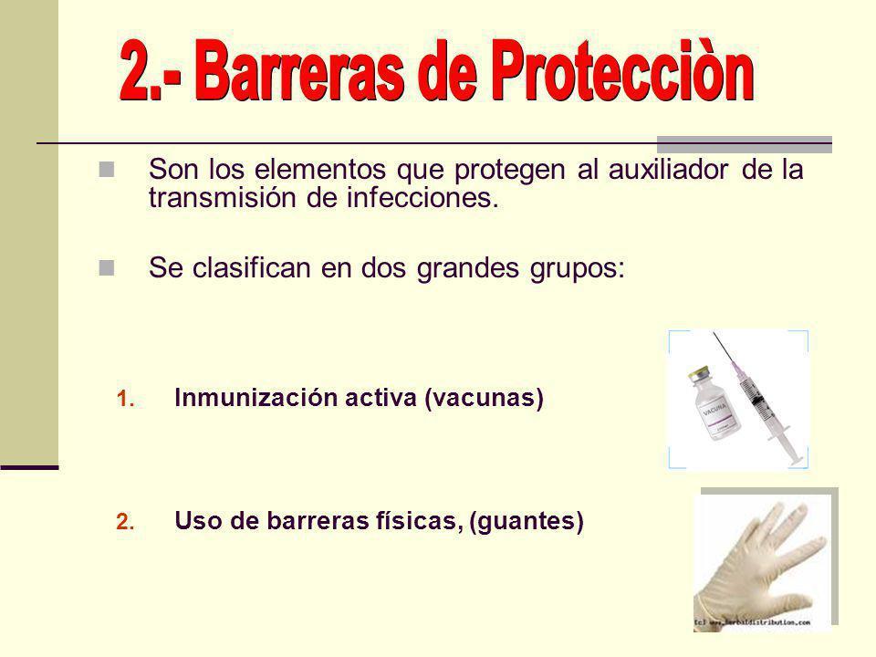 2.- Barreras de Protecciòn