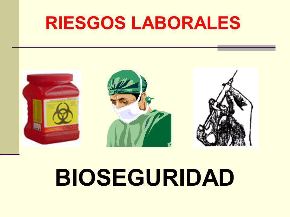 RIESGOS LABORALES BIOSEGURIDAD