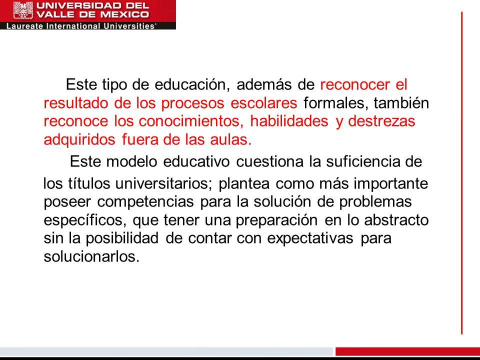 Este modelo educativo cuestiona la suficiencia de