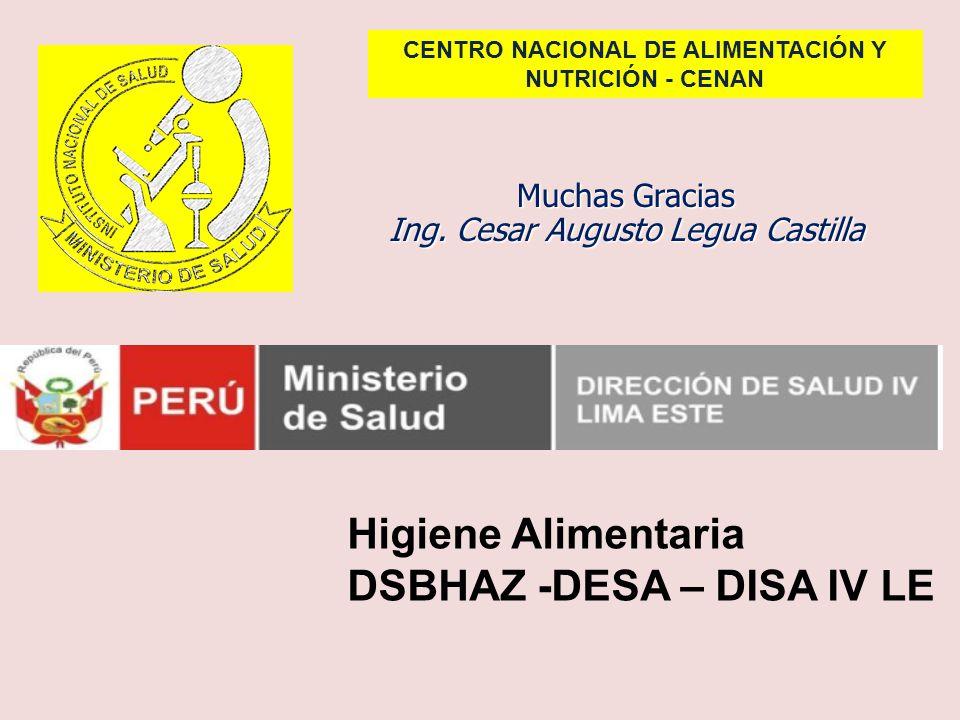 CENTRO NACIONAL DE ALIMENTACIÓN Y NUTRICIÓN - CENAN