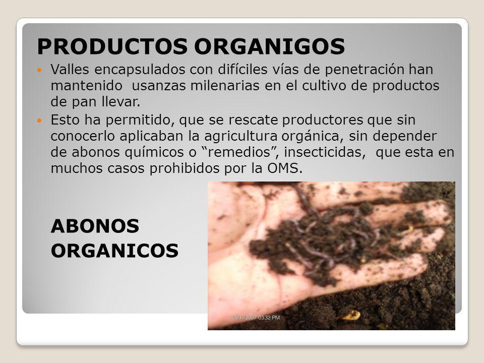 PRODUCTOS ORGANIGOS ORGANICOS