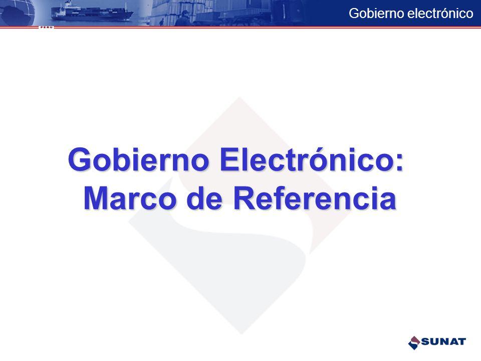Gobierno Electrónico: