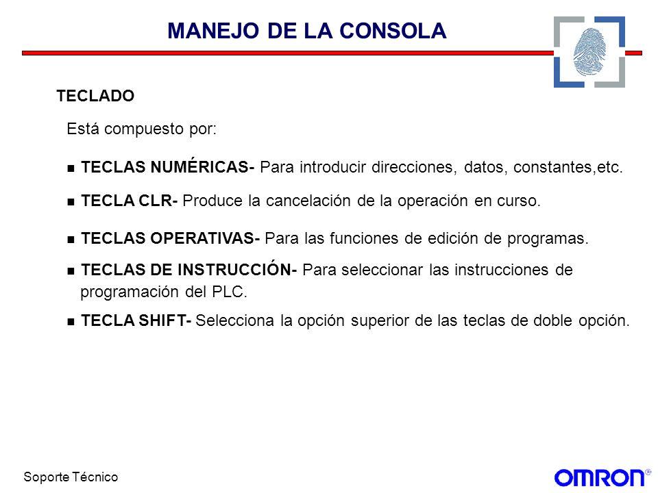 MANEJO DE LA CONSOLA TECLADO Está compuesto por: