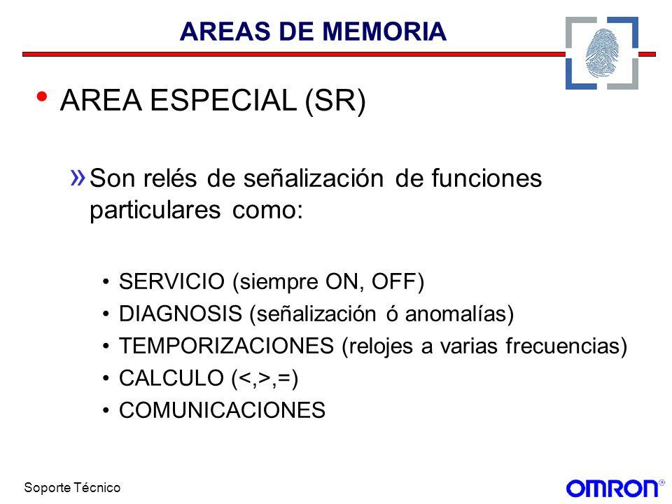 AREA ESPECIAL (SR) AREAS DE MEMORIA