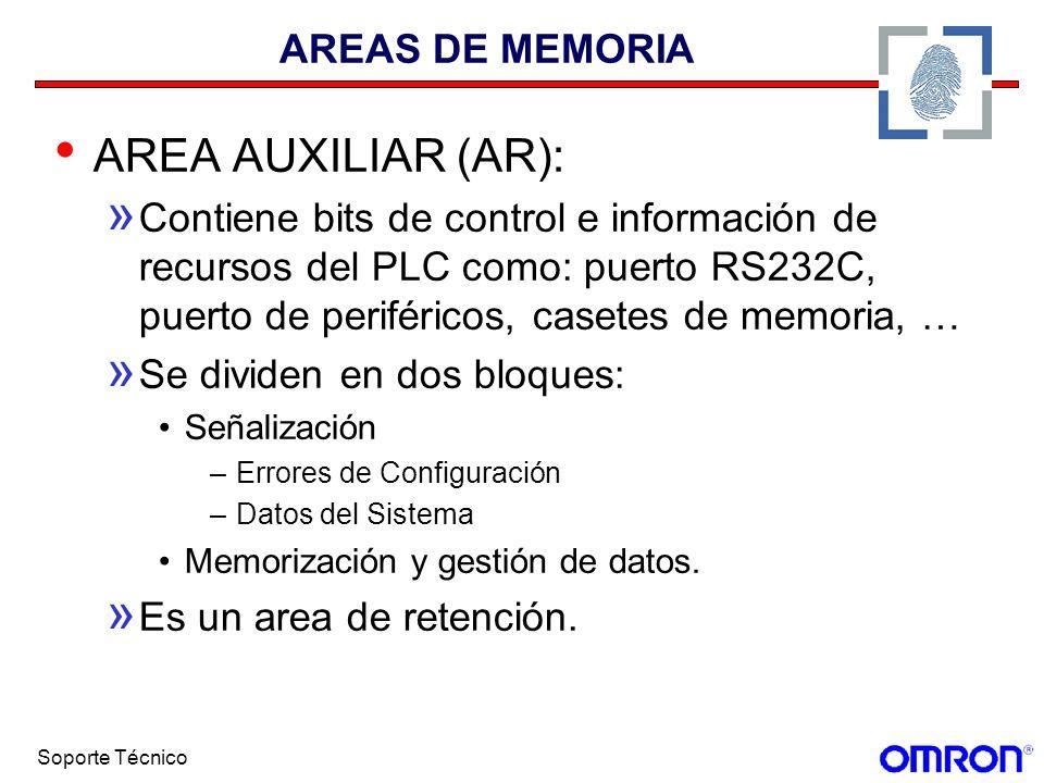 AREA AUXILIAR (AR): AREAS DE MEMORIA