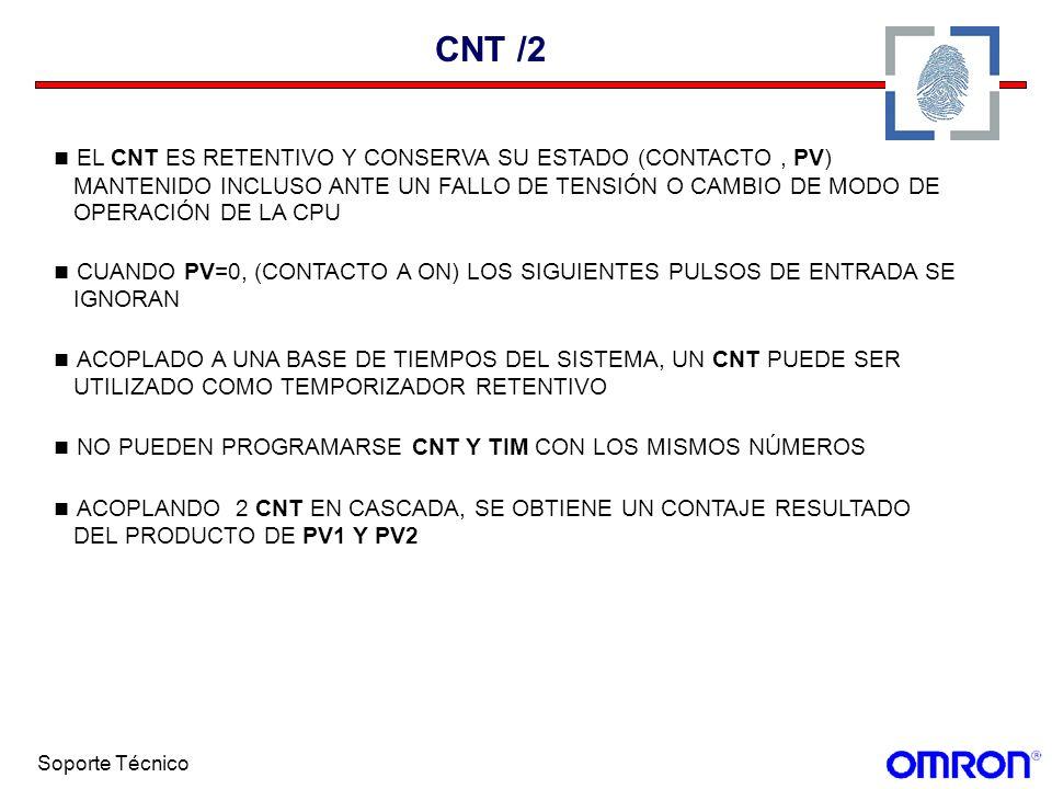 CNT /2 EL CNT ES RETENTIVO Y CONSERVA SU ESTADO (CONTACTO , PV)