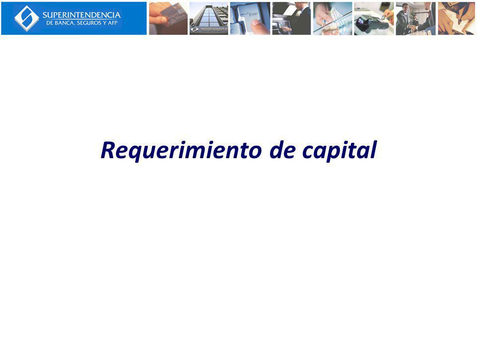 Requerimiento de capital