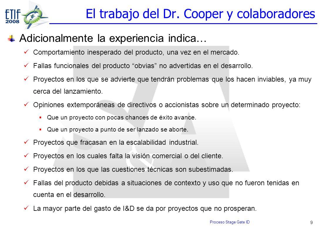 El trabajo del Dr. Cooper y colaboradores