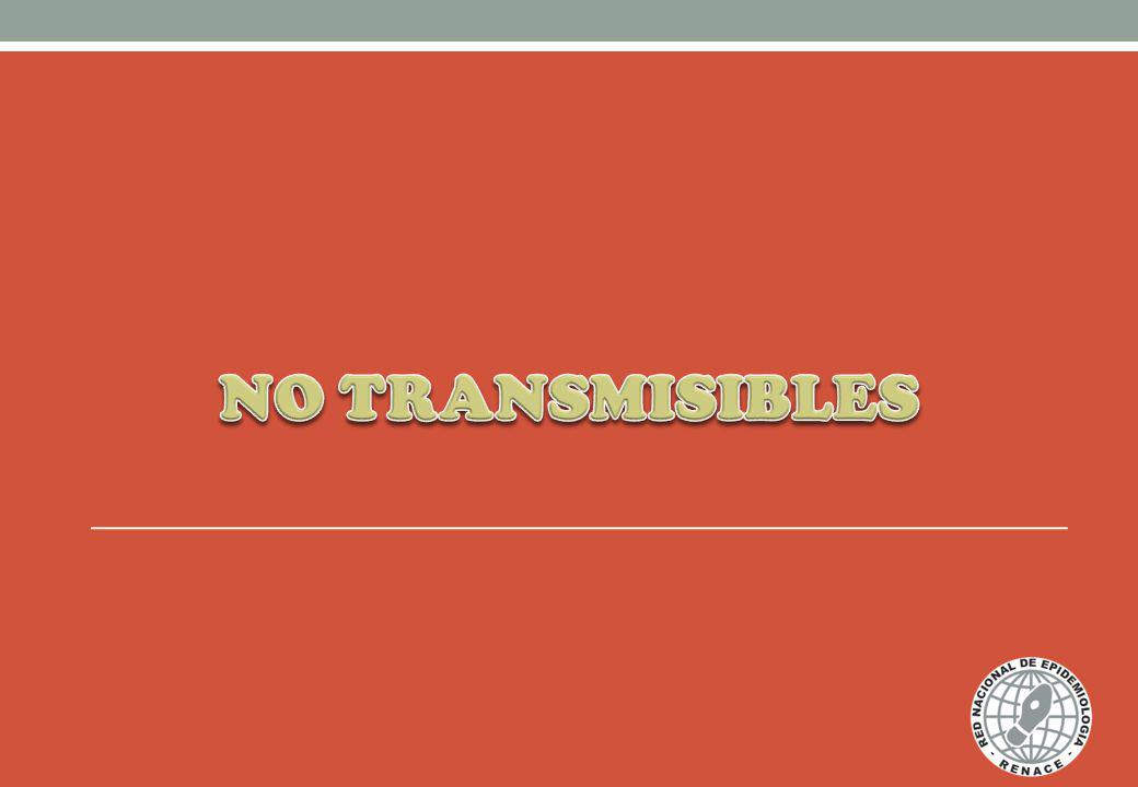 NO TRANSMISIBLES