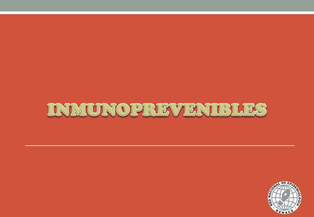 INMUNOPREVENIBLES