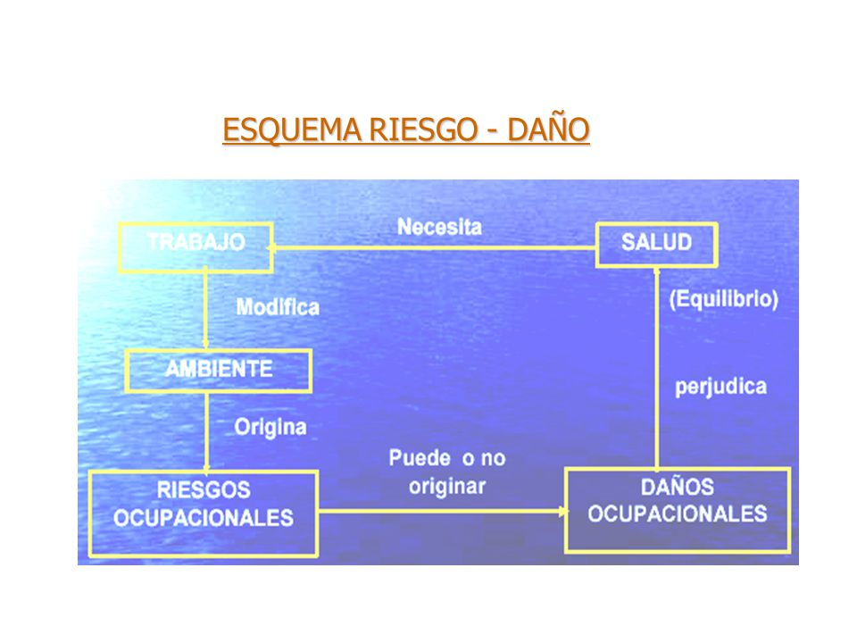 ESQUEMA RIESGO - DAÑO