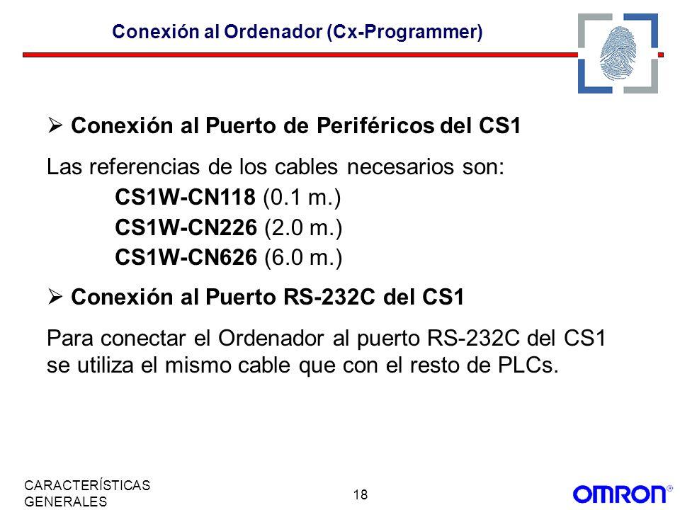 Conexión al Ordenador (Cx-Programmer)