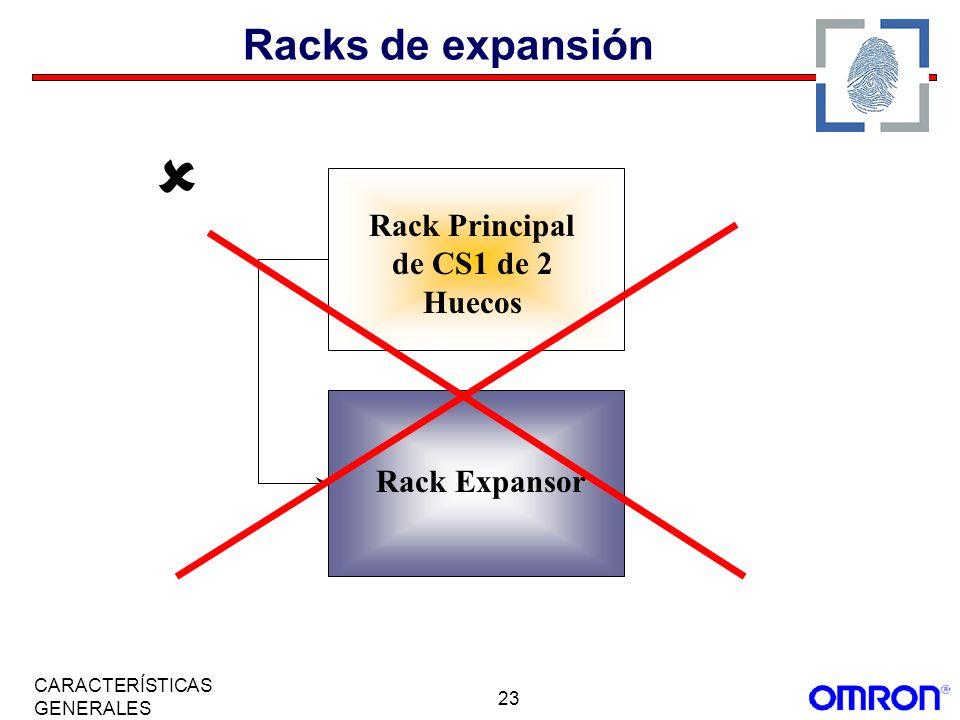Rack Principal de CS1 de 2 Huecos
