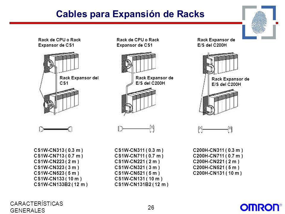 Cables para Expansión de Racks
