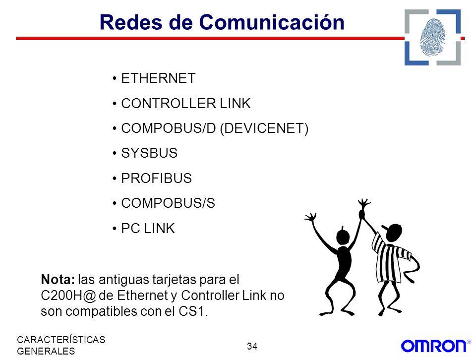 Redes de Comunicación ETHERNET CONTROLLER LINK COMPOBUS/D (DEVICENET)