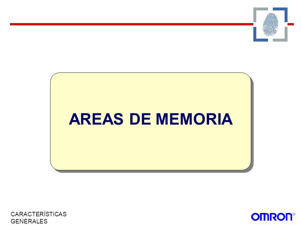 AREAS DE MEMORIA CARACTERÍSTICAS GENERALES