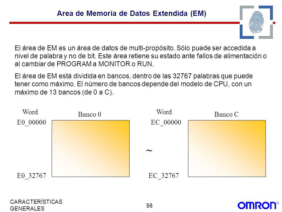 Area de Memoria de Datos Extendida (EM)